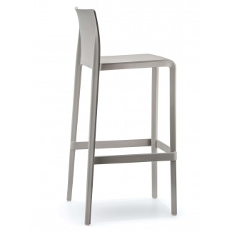 Pedrali Volt High Back Stacking Bar Stool