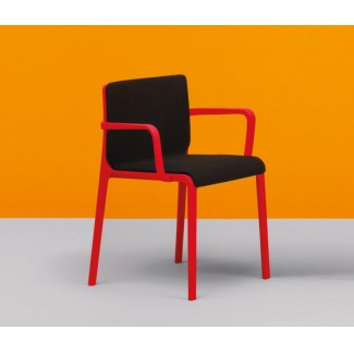 Pedrali Volt Upholstered Stacking Armchair