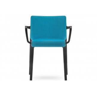 Pedrali Volt Upholstered Stacking Arm Chair