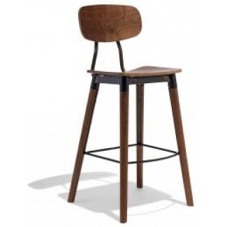 Wagner Hospitality Industrial Indoor Bar Stool