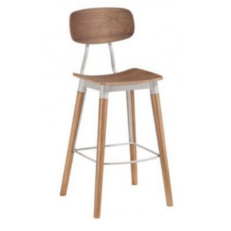 Wagner Hospitality Mid-Century Modern Indoor Bar Stool
