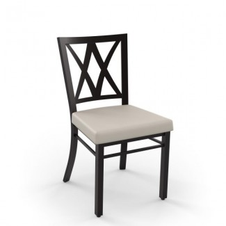 Washington 30303-USMB Hospitality distressed metal dining chair