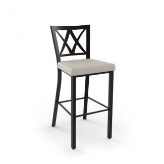 Washington 40303-USMB Hospitality distressed metal bar stool
