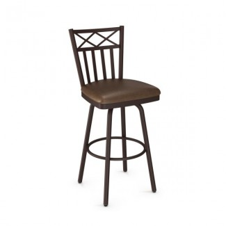 Wellington 41516-USMB Hospitality distressed metal bar stool