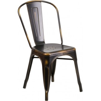 Westinghouse Distressed Side Chair
