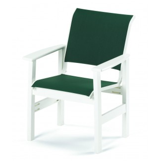 Windward Sling Resin Cafe Arm Chair
