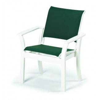 Windward Sling Stacking Restaurant Dining Arm Chair