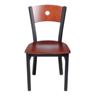 Wood Side Chair with Upholstered Seat 951