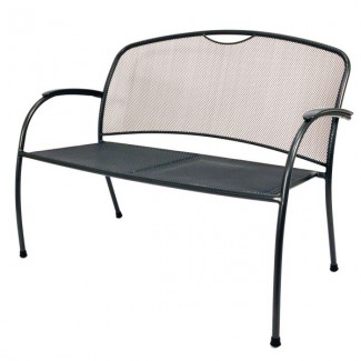 Wrought Iron Hospitality Benches Monte Carlo Bench