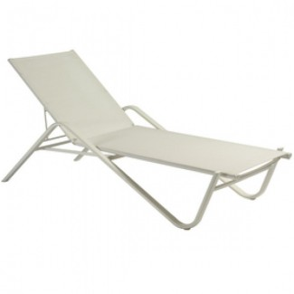 Holly Stacking Aluminum Chaise Lounge