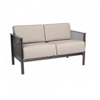 Wrought Iron Hospitality Lounge Chairs Jax Loveseat