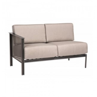 Wrought Iron Hospitality Lounge Chairs Jax Sectional - LEFT