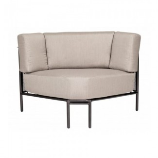 Wrought Iron Hospitality Lounge Chairs Jax Sectional - MIDDLE