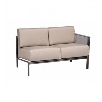 Wrought Iron Hospitality Lounge Chairs Jax Sectional - RIGHT