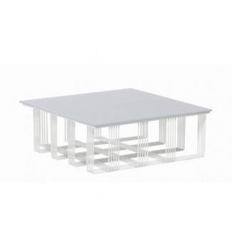 "33"" Square Intrecci Lounge Table"
