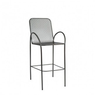 Avalon Wrought Iron Bar Stool