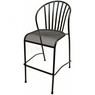 Wrought Iron Restaurant Barstools Cylo Bar Stool