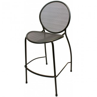 Wrought Iron Restaurant Barstools Metro Bar Stool