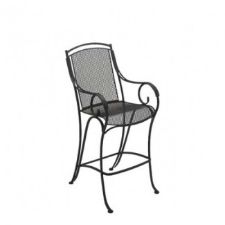 Modesto Wrought Iron Bar Stool