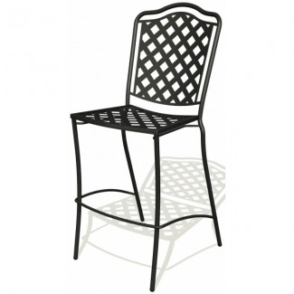 Wrought Iron Restaurant Barstools Monroe Bar Stool