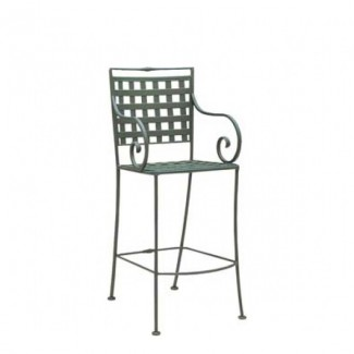 Sheffield Wrought Iron Bar Stool
