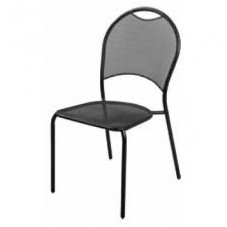 Wrought Iron Restaurant Chairs Barkley Side Chair