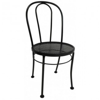 Wrought Iron Restaurant Chairs Bentwood Side Chair