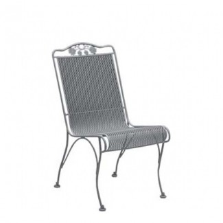 Wrought Iron Restaurant Chairs Briarwood High-Back Dining Side Chair