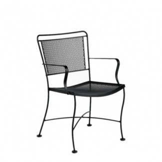 Wrought Iron Restaurant Chairs Constantine Dining Arm Chair