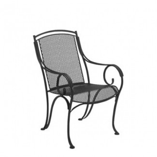 Wrought Iron Restaurant Chairs Modesto Dining Arm Chair