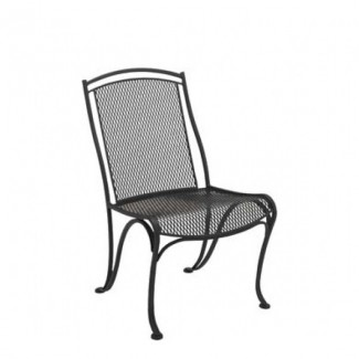 Wrought Iron Restaurant Chairs Modesto Dining Side Chair
