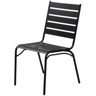 Wrought Iron Restaurant Chairs Monaco Side Chair