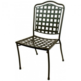 Wrought Iron Restaurant Chairs Monroe Side Chair