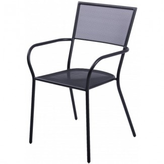 Wrought iron restaurant furniture bistro seating for Wrought iron cafe chairs