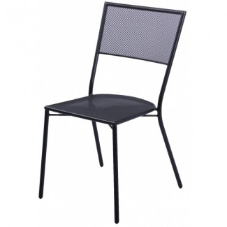 Wrought Iron Restaurant Chairs Montauk Side Chair