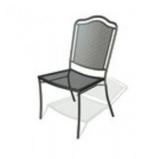 Wrought Iron Restaurant Chairs Newport Side Chair