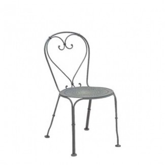 Parisienne Wrought Iron Side Chair