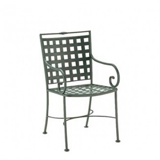 Wrought Iron Restaurant Chairs Sheffield Dining Arm Chair