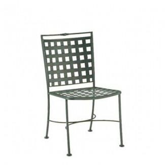 Wrought Iron Restaurant Chairs Sheffield Dining Side Chair