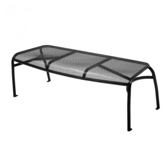 Wrought Iron Restaurant Furniture Topeka Bench