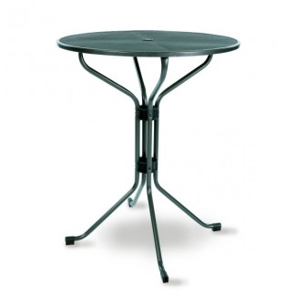 "33"" Round Mesh Top Bar Table"