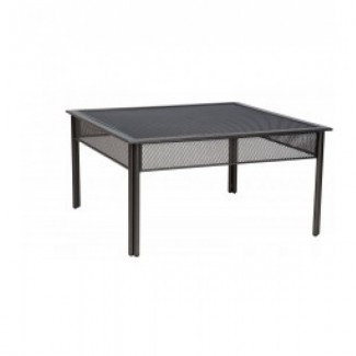 Wrought Iron Restaurant Hospitality Tables Jax Micro Mesh Coffee Table