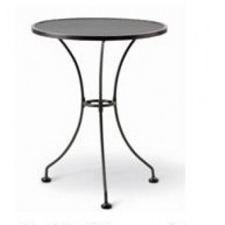 "24"" Round Mesh Top Table"