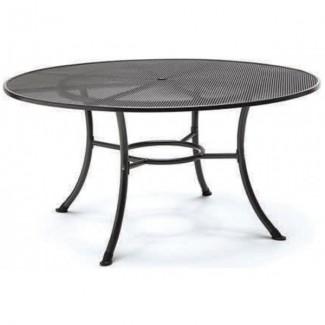 "42"" Round Mesh Top Table with Umbrella Hole"