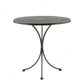 Wrought Iron Restaurant Tables Bistro Mesh 30