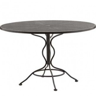 Wrought Iron Restaurant Tables Bistro Mesh 36