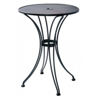 Wrought Iron Restaurant Tables Butterfly Bar Table - 36