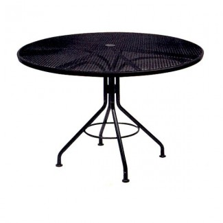 Wrought Iron Restaurant Tables Contract Mesh 48