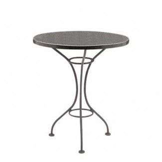 "Parisienne 30"" Round Mesh Top Table"