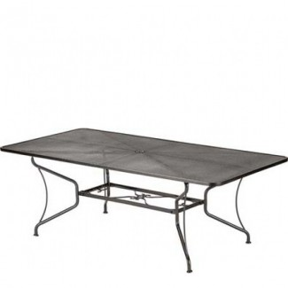 "Premium Mesh 42"" x 84"" Rectangular Umbrella Table"